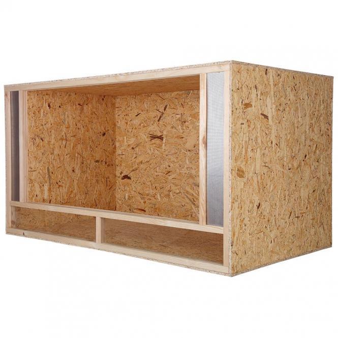 bois terrarium holzterrarium 150x80x80 front ventilation. Black Bedroom Furniture Sets. Home Design Ideas